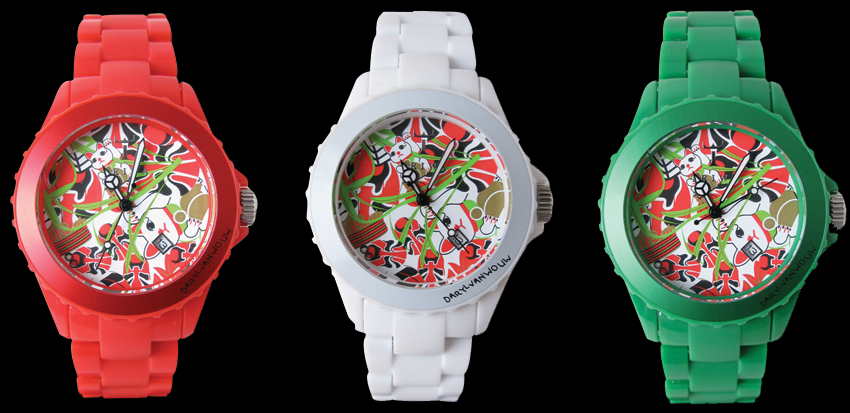 Daryl van Wouw for Tritoni watches