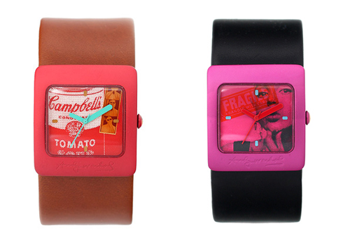 Catch(es) of the day: Andy Warhol watches