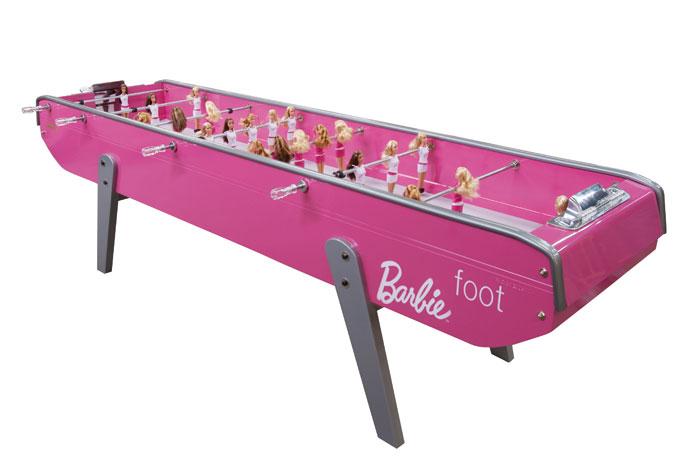 Soccer Barbie!