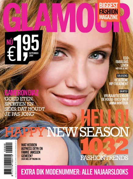 Follow Glamour.nl on Twitter