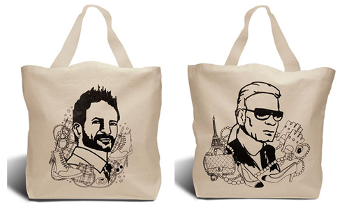 Catch of the day: Karl and Marc-totes!