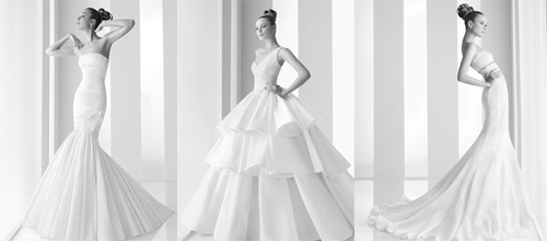 Wedding dresses by Rosa Clara