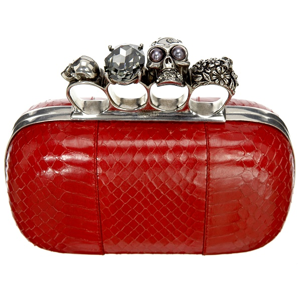 Catch of the day: The Knuckle Duster Clutch