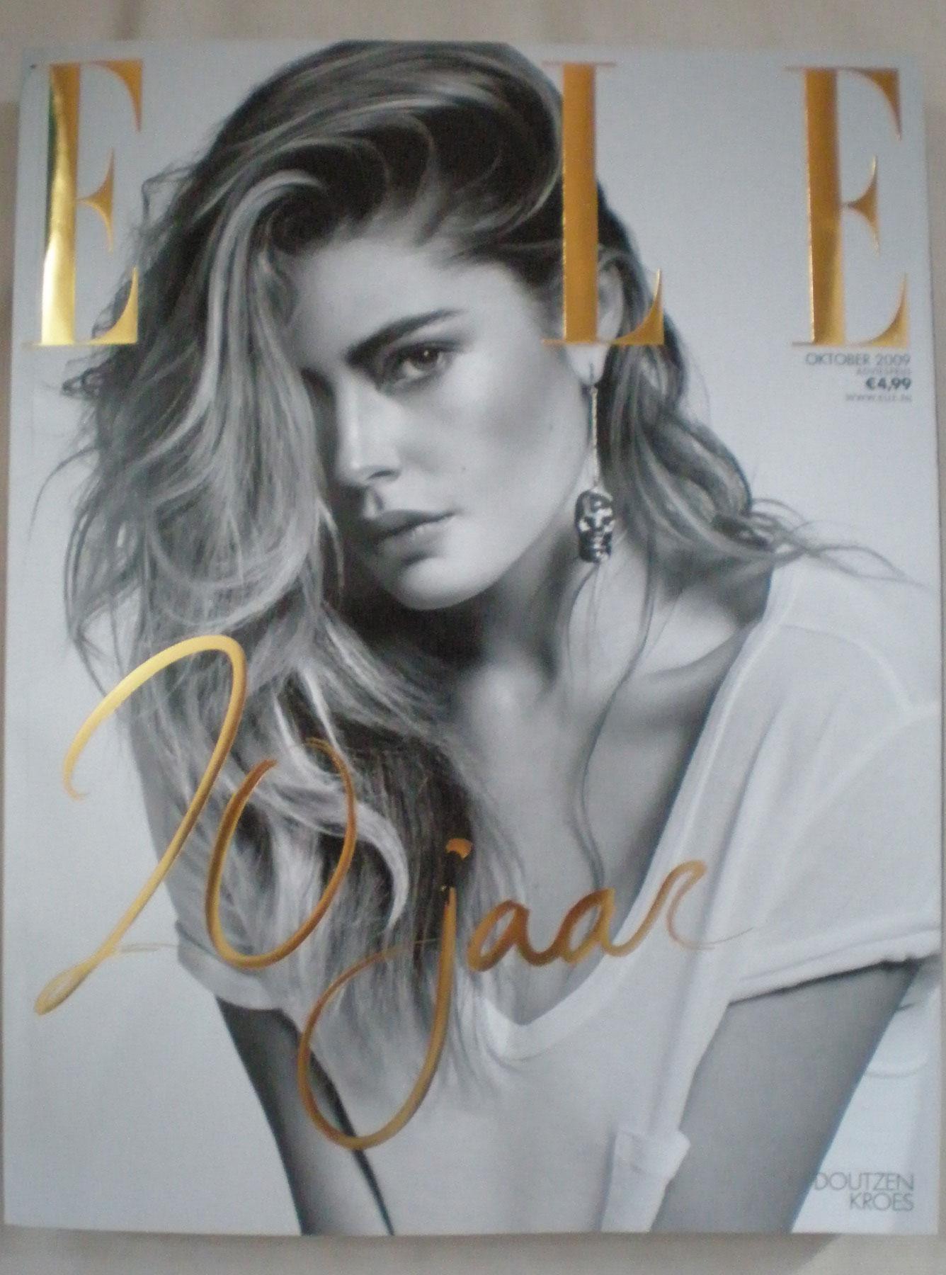 Dutch Elle celebrating 20 years anniversary!