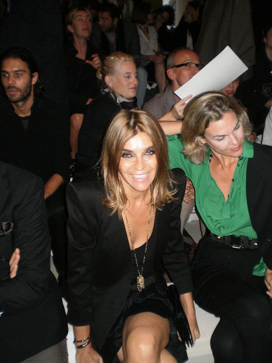 Carine Roitfeld is smiling at the Digitalistas