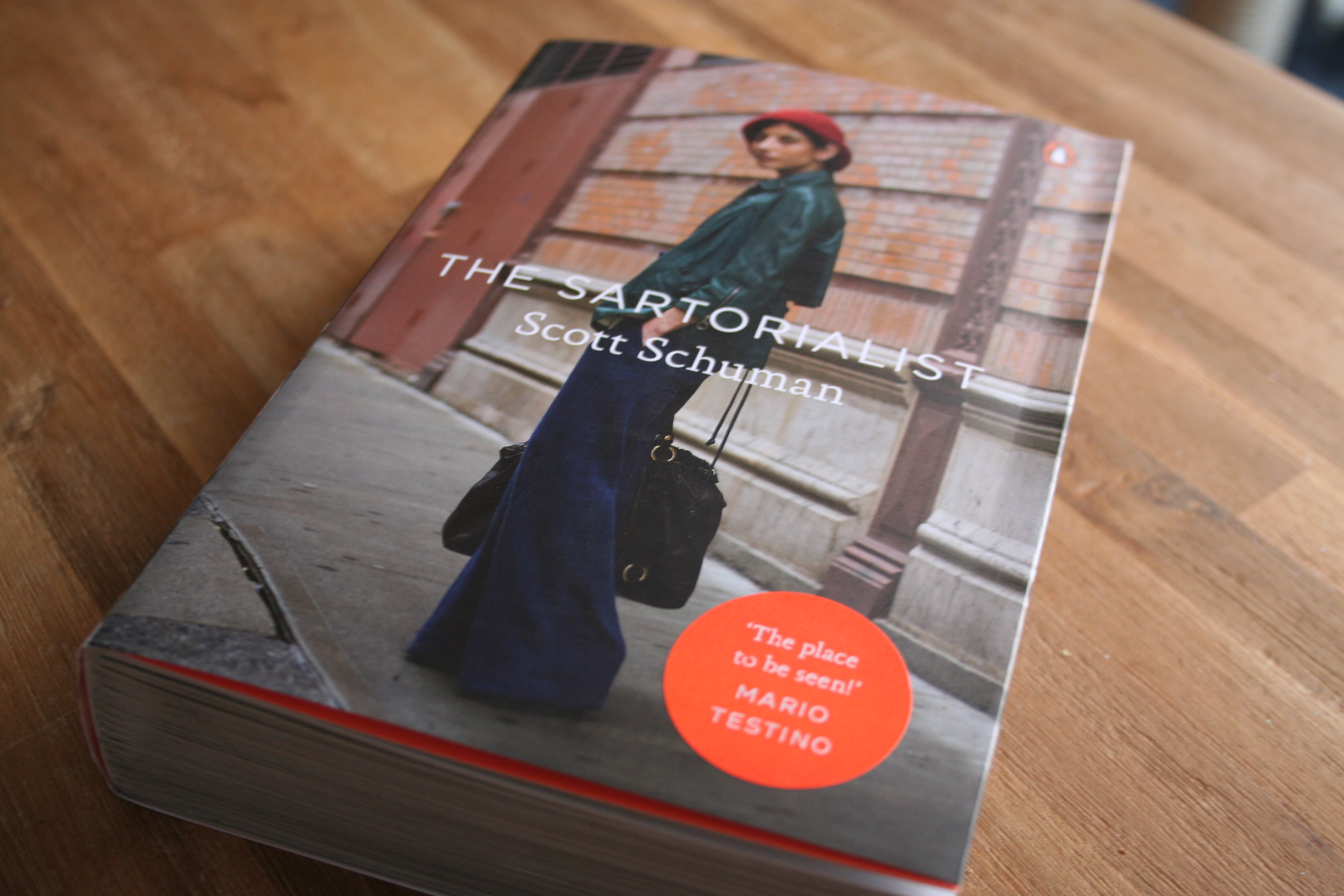Just delivered: The book of The Sartorialist!