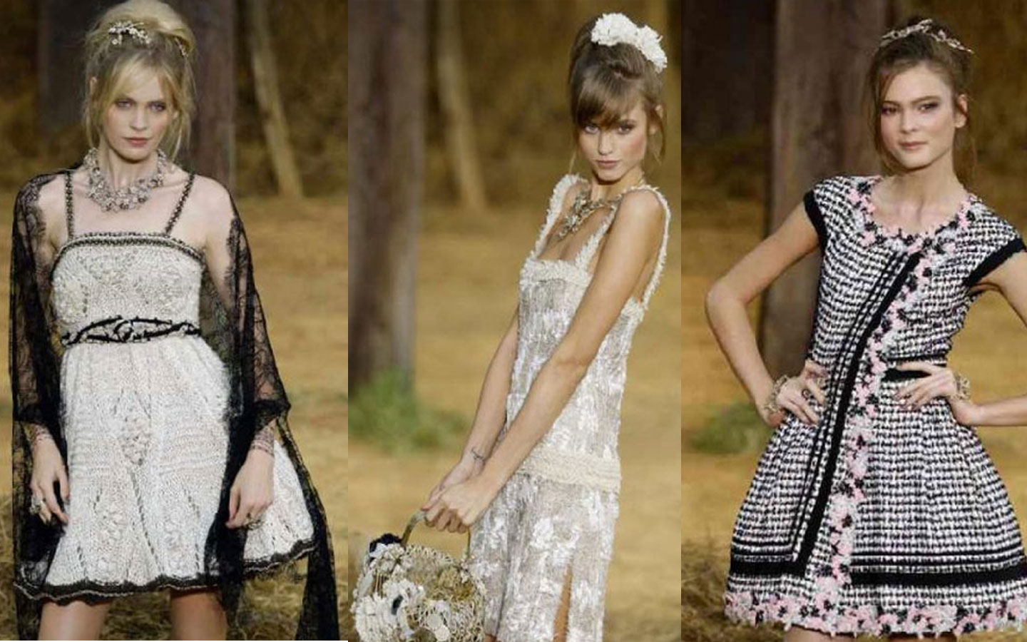 Sweet dresses for the countryside