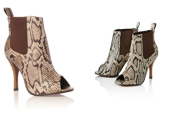 Catch of the day: Kurt Geiger peeptoe ankle-boots