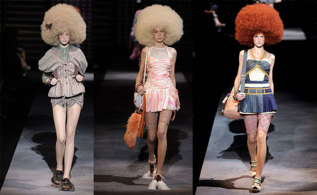 Afro-licious Louis Vuitton S/S '010