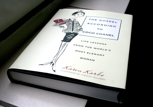 Just delivered: Coco Chanel book