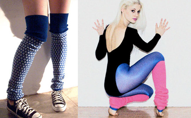 What's up with all those legwarmers?