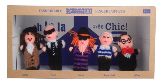 Funniest Christmas gift: Fashionable Finger Puppets