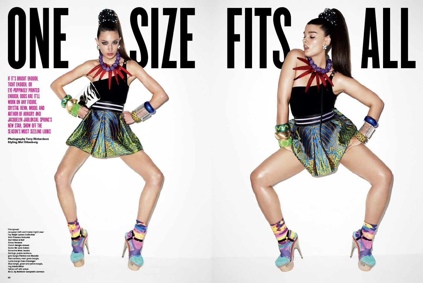 V magazine preview: 'One size fits all'