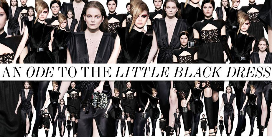 An ode to the Little Black Dress