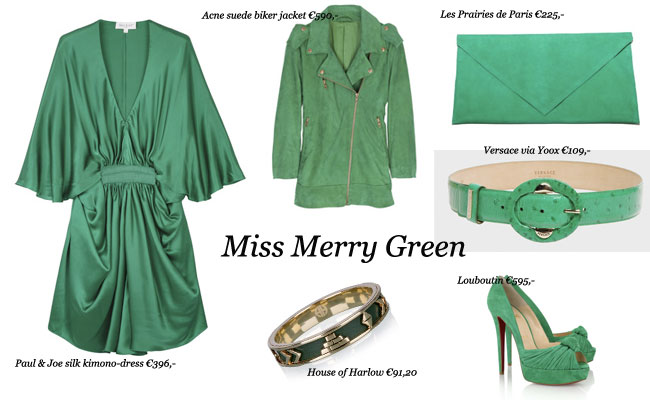 X-mas wishlist: Green