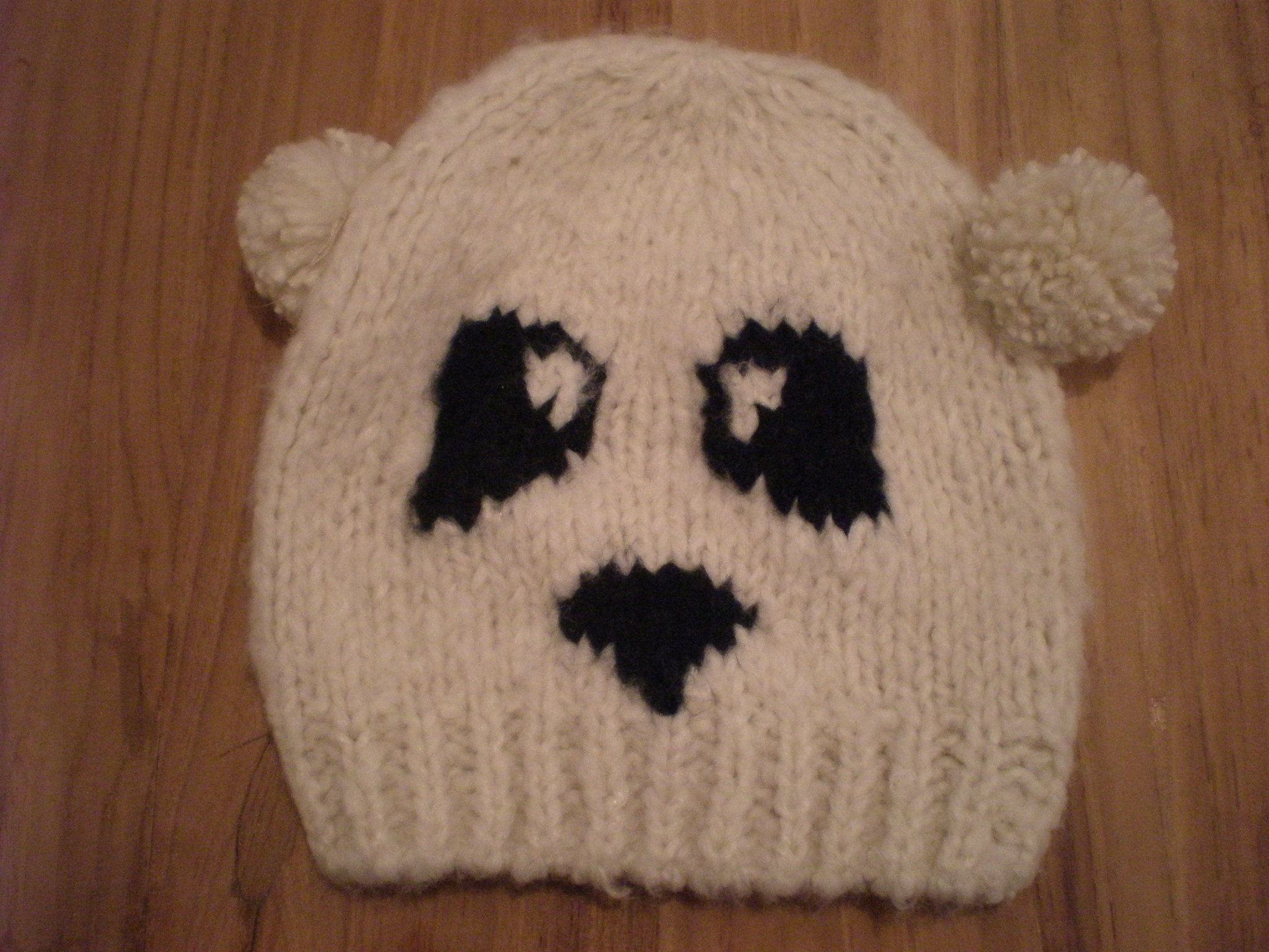 Catch of the day: Panda beanie @ River Island