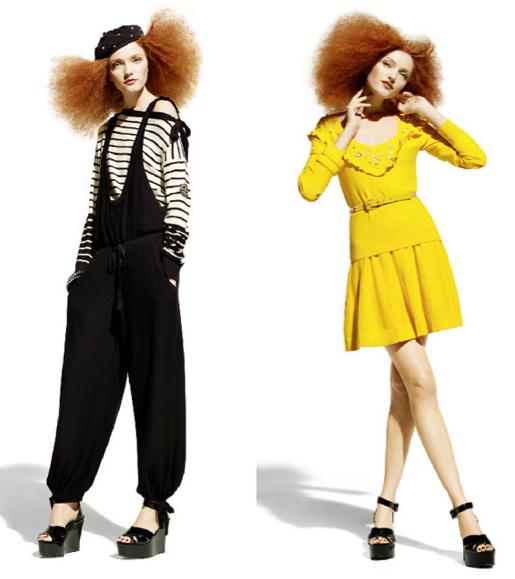 Sonia Rykiel X H&M knitwear collection lookbook