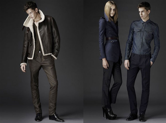 Livestream Burberry Prorsum Menswear collection
