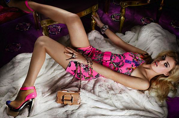 Georgia May Jagger for Versace: Love the pics!