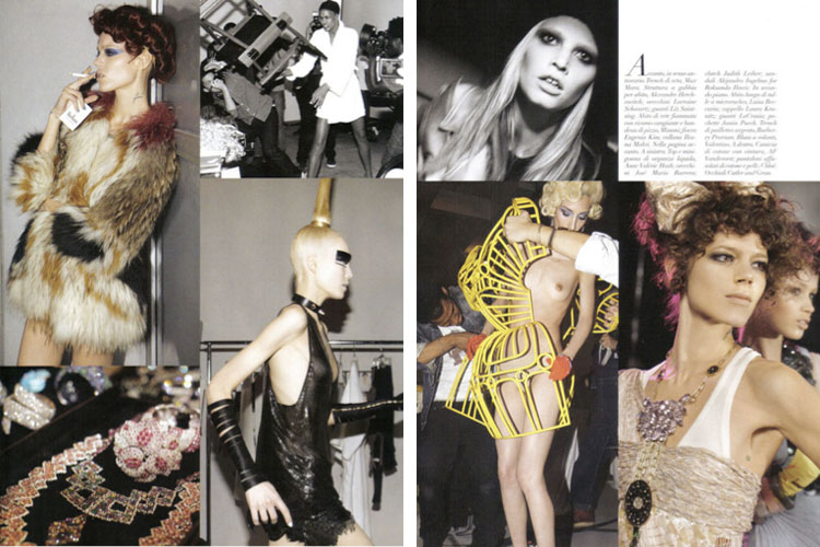Steven Meisel's 80 pages