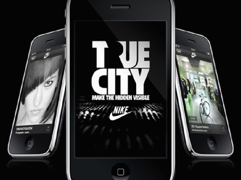 We like: The 'True City' Nike/i-phone app