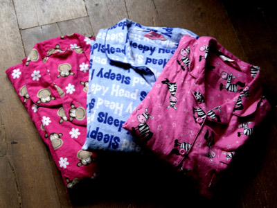 Digitalista E. went to Primark and all she's got are these lousy PJ's…