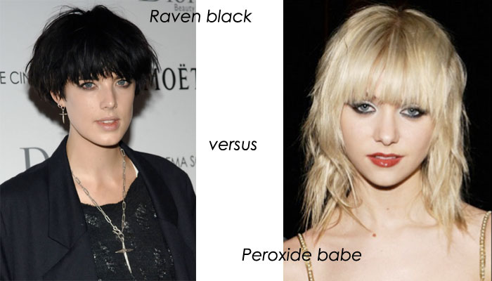 Hairtrend 2010: Black vs peroxide?