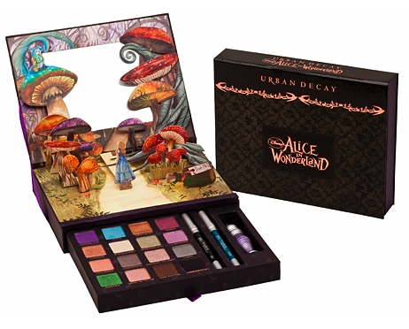 O.P.I., Urban Decay and Swarovski 'Alice in Wonderland'-goodies