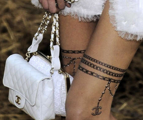 Get your Chanel tattoos on!
