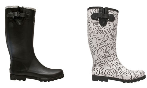 Catch of the day: Keith Haring X Tommy Hilfiger rainboots