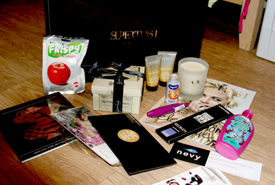 Our winning goodiebag of the AIFW: Supertrash