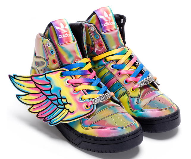 Spread your wings and…Jeremy Scott X Adidas