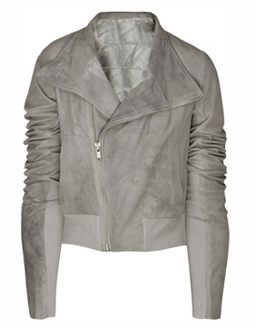 Catch of the day: Rick Owens leather jacket