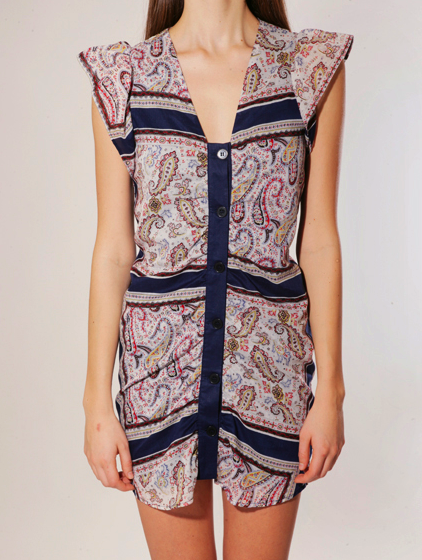 Catch of the day: Paisley dress by Rodebjer
