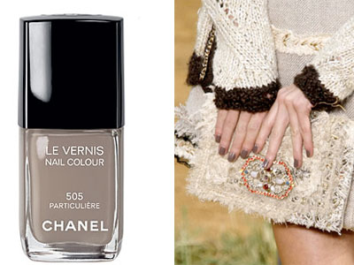 It's not brown, it's not grey…it's Chanel 'Particulière'