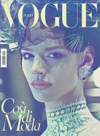 Digitalistic: Freja for Vogue Italia