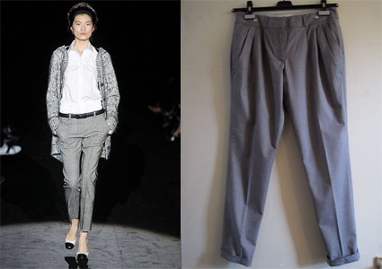 Keepin' our grey pants in the closet