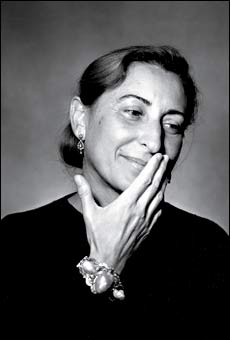Miuccia Prada: Twitter is crap, Facebook is bulls**it