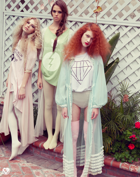 Witchcraft inspiration at Wildfox Couture