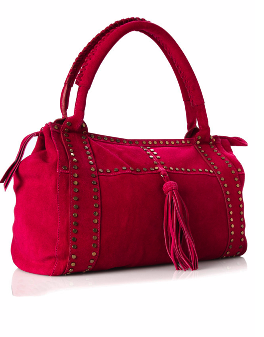 Catch of the Day: FCUK Morrocan suede bag
