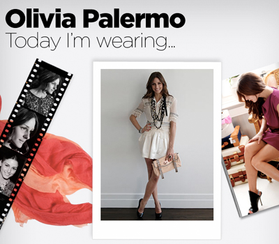 Step into Olivia's wardrobe