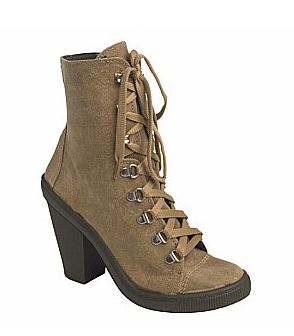 Catch of the day: suede ankle boot