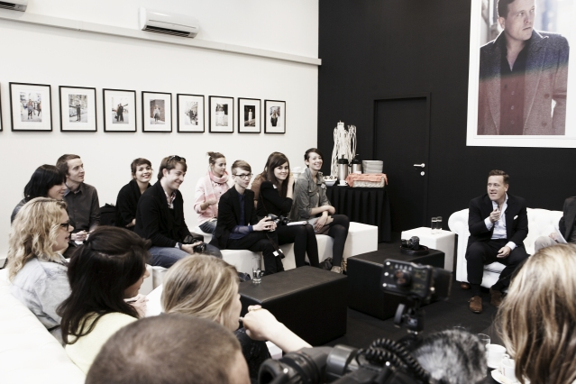 Digitalista M. in conversation with The Sartorialist