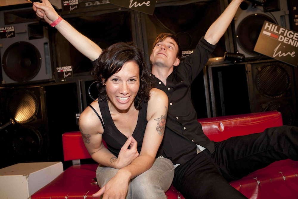 Digitalistic tunes: energetic Matt & Kim from Brooklyn