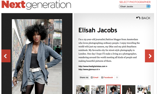Is Digitalista E. Vogue's next generation street style photographer?!?