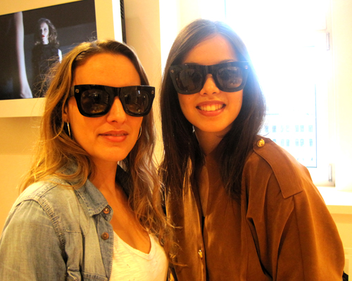 The Digitalistas put on their Lanvin for H&M sunglasses
