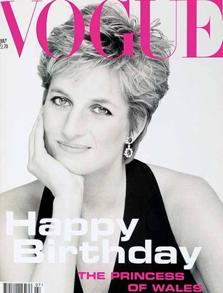 Diana for Vogue shot by Patrick Demarchelier