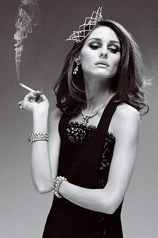 Inspiration: Olivia Palermo goes Audrey chic
