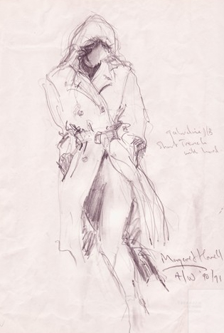 Sketch by Margaret Howell