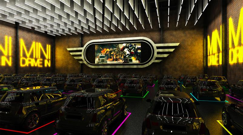 Digitalistic idea: MINI drive-in cinema